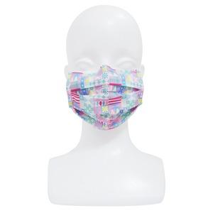 【アップマークサム】いつものマスク姿がオシャレに変身!不織布マスクカバー naamio 夢の国シリーズ【スモールワールド】&クレンゼガーゼマスク(一般サイズ)セット
