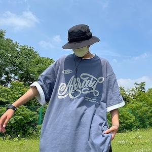 ルーズフロントプリントTシャツ BL8703