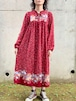 Vintage Bohemian Pedicel Dress