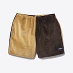 Two-Tone Corduroy Running Shorts(Fawn/Brown)