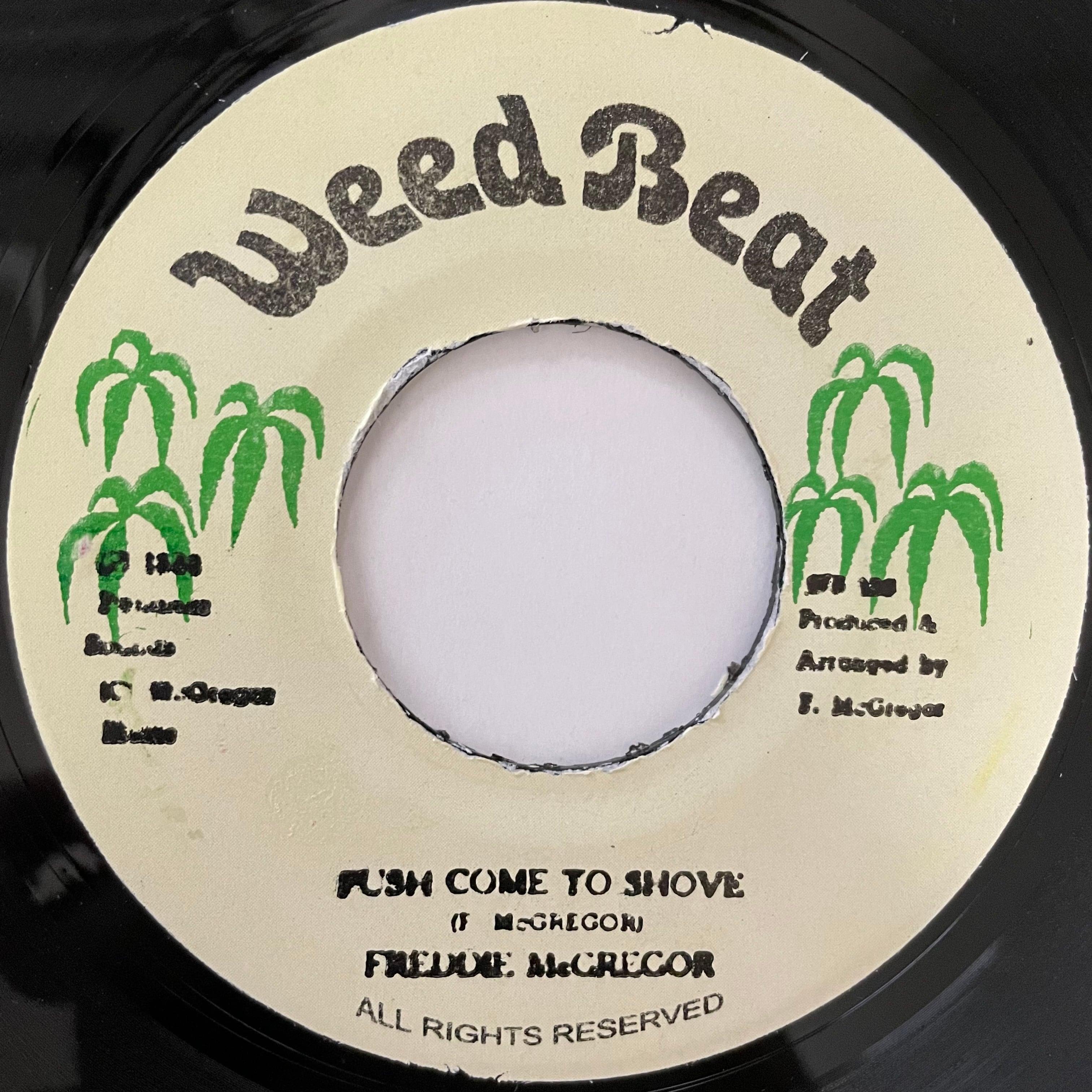 Freddie McGregor - Push Come To Shove【7-20743】