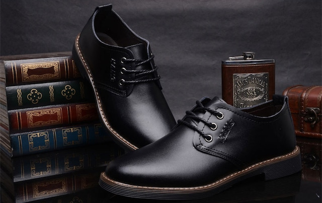ウォーキングシューズ ブーツ レザー 革 メンズ シューズ 革靴 軽量 カジュアル shs-1