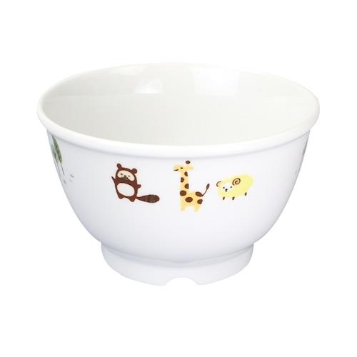 4歳以上におすすめ!10.5cmこどもどんぶり/汁碗 ホリデー 強化磁器【1742-1350】