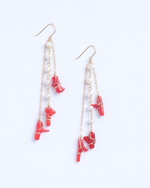 Fira / Pearl w redcoral