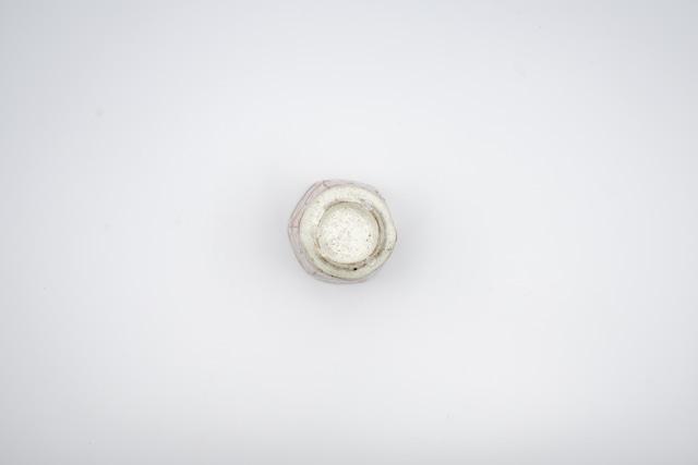 ◆受注生産◆青麻の葉六角湯呑 三浦繁久作