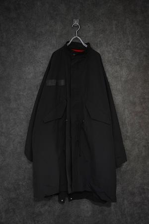 my beautiful landlet splitting ripstop mods coat Black