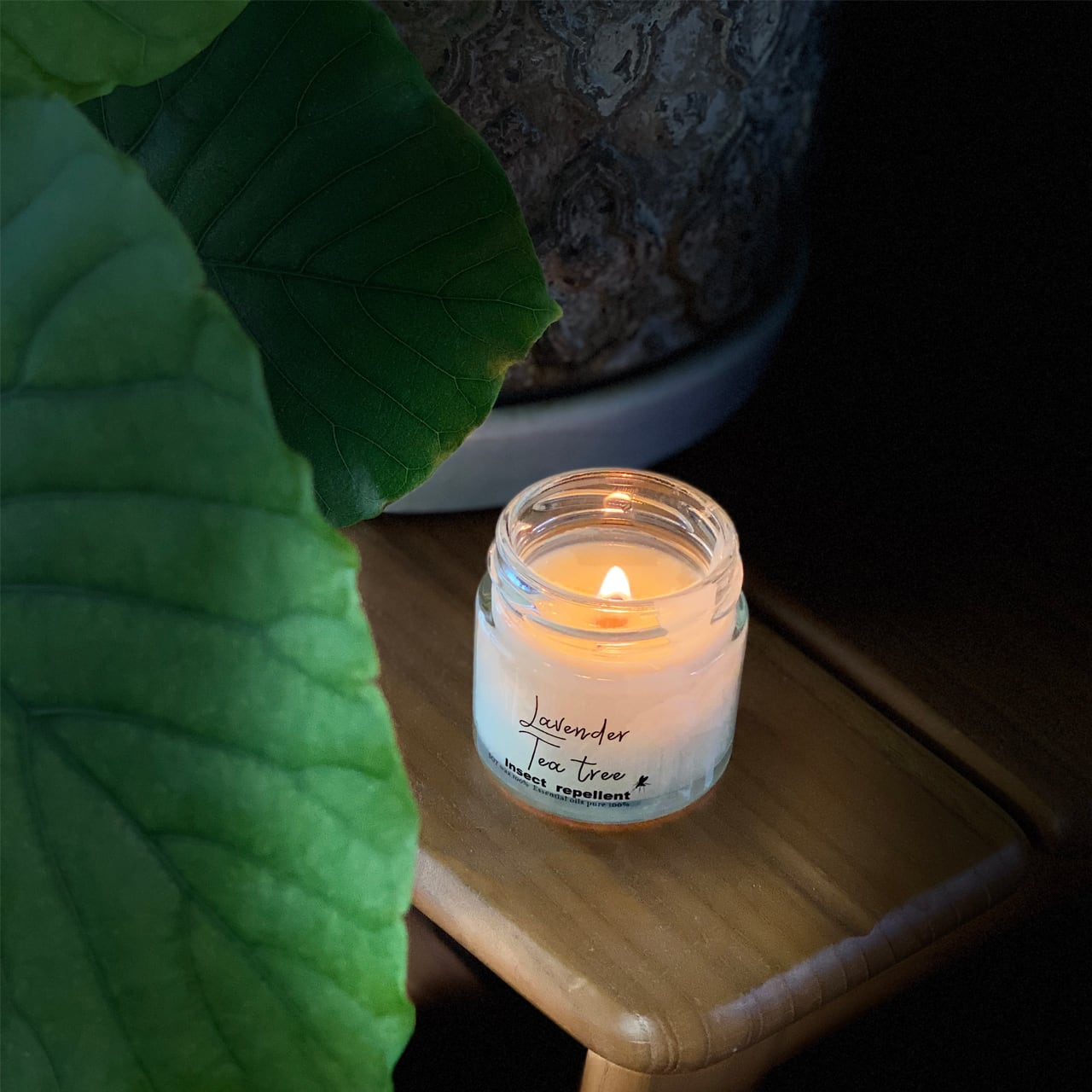 MUSHIYOKE'candle 2本セット