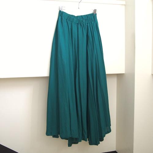 【ethical hippi】stretch cupro longskirt  / 【エシカル ヒッピ】ストレッチキュプラ ロングスカート
