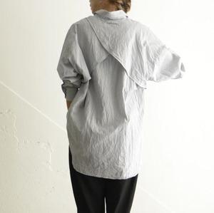 SIWALY  Stripe Back Lining Shirt