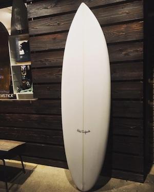 Hata Surfboards x Hayashi Intl  「nakid...」6'0'' 送料10000円込み