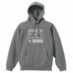 Chatwork  Label  スウェットプルオーバーパーカー heather gray