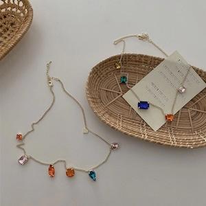 color crystal pendant(A.B)