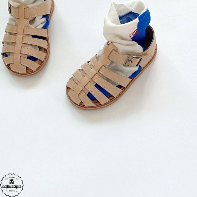 «sold out» Gladiator Sandal beige グラディエーターサンダル ベージュ