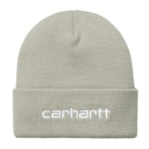 Carhartt (カーハート)SCRIPT BEANIE - Hammer / White スクリプトビーニー