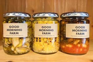 GMF SUMMER GIFT|GOOD MORNING FARM|しいたけ、とうもろこし、チリトマトビーンズ