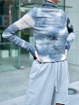 【WOMENS - 1 size】TIEDYE WARMER LONGSLEEVE / 2colors