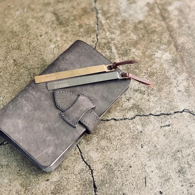 Tiny Formed Tiny metal bookmark ブックマーク
