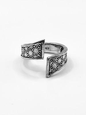 麻の葉文様リング(Hemp leaf pattern Ring)