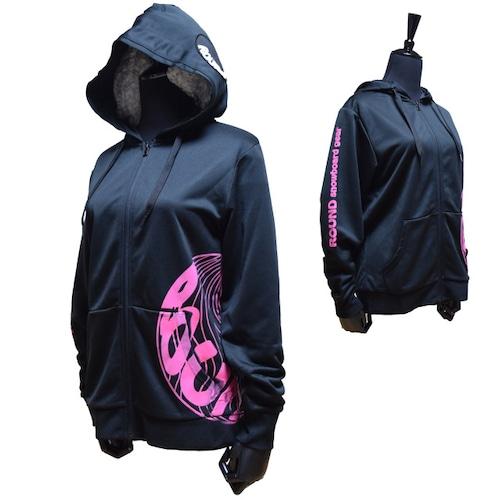 球体ロゴパーカー【ピンク】