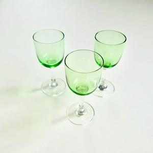 【30936】グリーングラス 昭和初期 / Green Glass / Showa Era