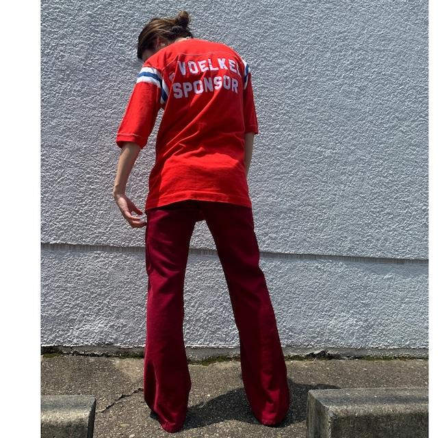 70s~80s sportswear tee