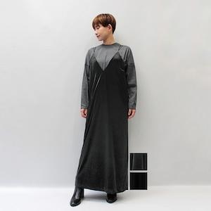 SACRA(サクラ) TRIACE VELOUR ONE PIECE 2021秋冬新作 [送料無料]