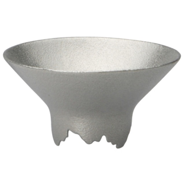 SHIKICOLORS SILVER SAKE CUP(錫の酒器)