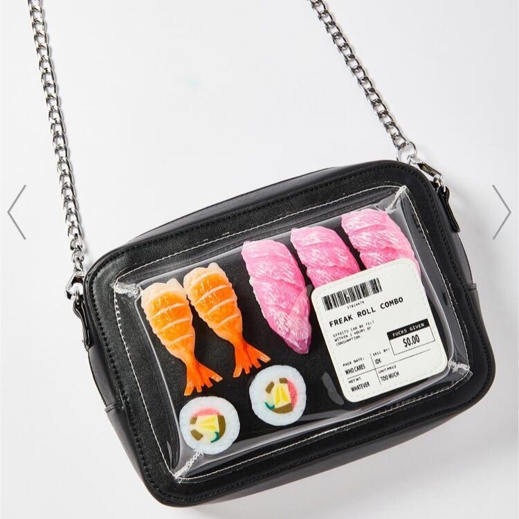 【セレクト】お寿司モチーフショルダーバッグ