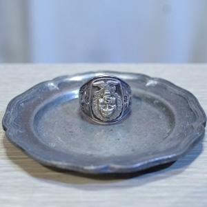 VINTAGE US NAVY Silver Ring / USN Sterling シルバー リング BALFOUR社製