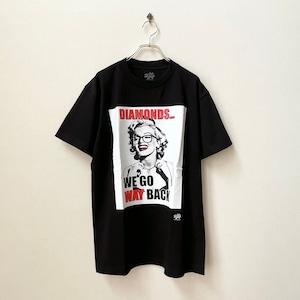 Radio Days マリリンモンロー ラバープリントTシャツ アメリカ直輸入 新品セレクト ブラック