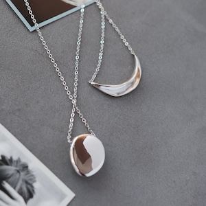 NECKLACE || 【通常商品】 NEW YEAR SILVER NECKLACE SET || 2 NECKLACES || SILVER || FAL027