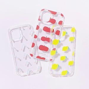フルーツiPhoneケース 全3種 チェリー・レモン・アップル