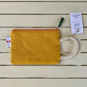 FEDE Sahara Clutch Mini Yellow x Orange