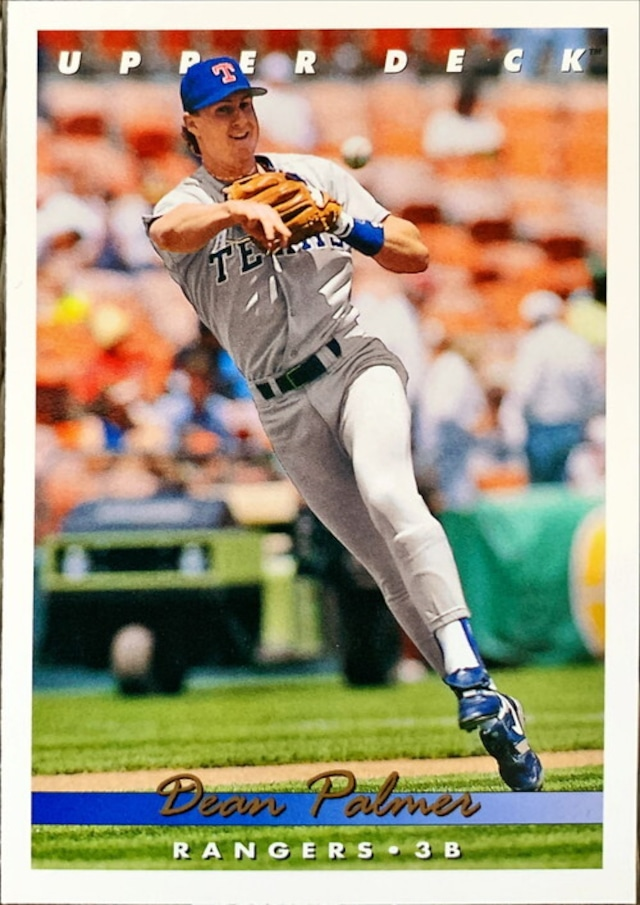 MLBカード 93UPPERDECK Dean Palmer #241 RANGERS