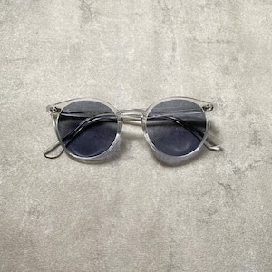 CLEAR FRAME (blue gray)
