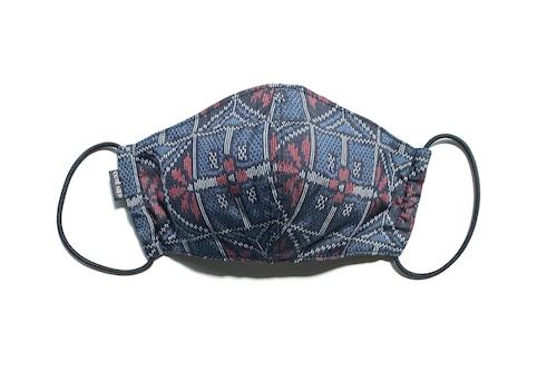 【高級留袖生地使用 日本製】高級和柄マスク w13