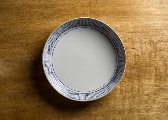 線刻 半磁器 プレート(深皿・浅鉢・ボウル・切立鉢)/鈴木美佳子