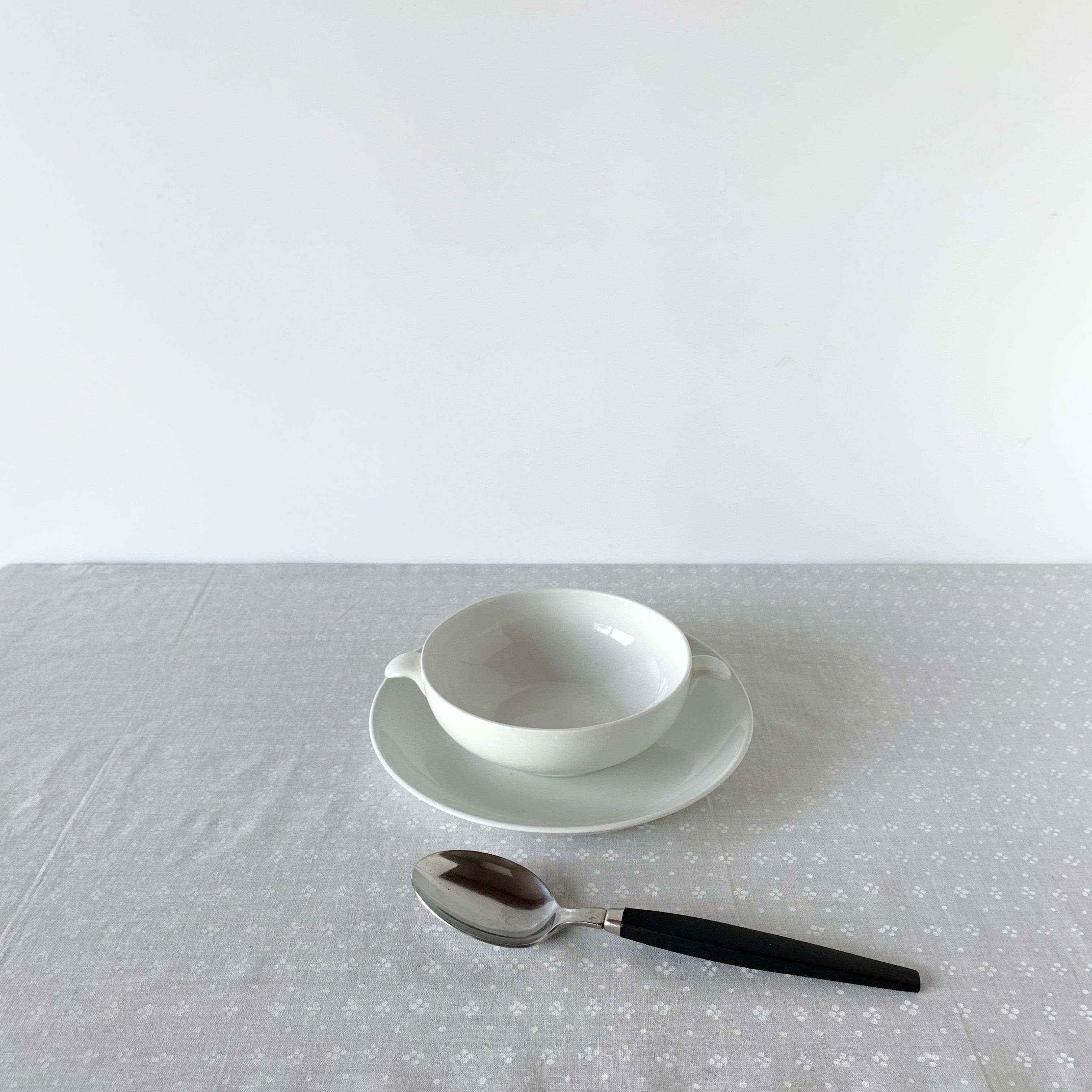 ARABIA / Soup Cup & Saucer