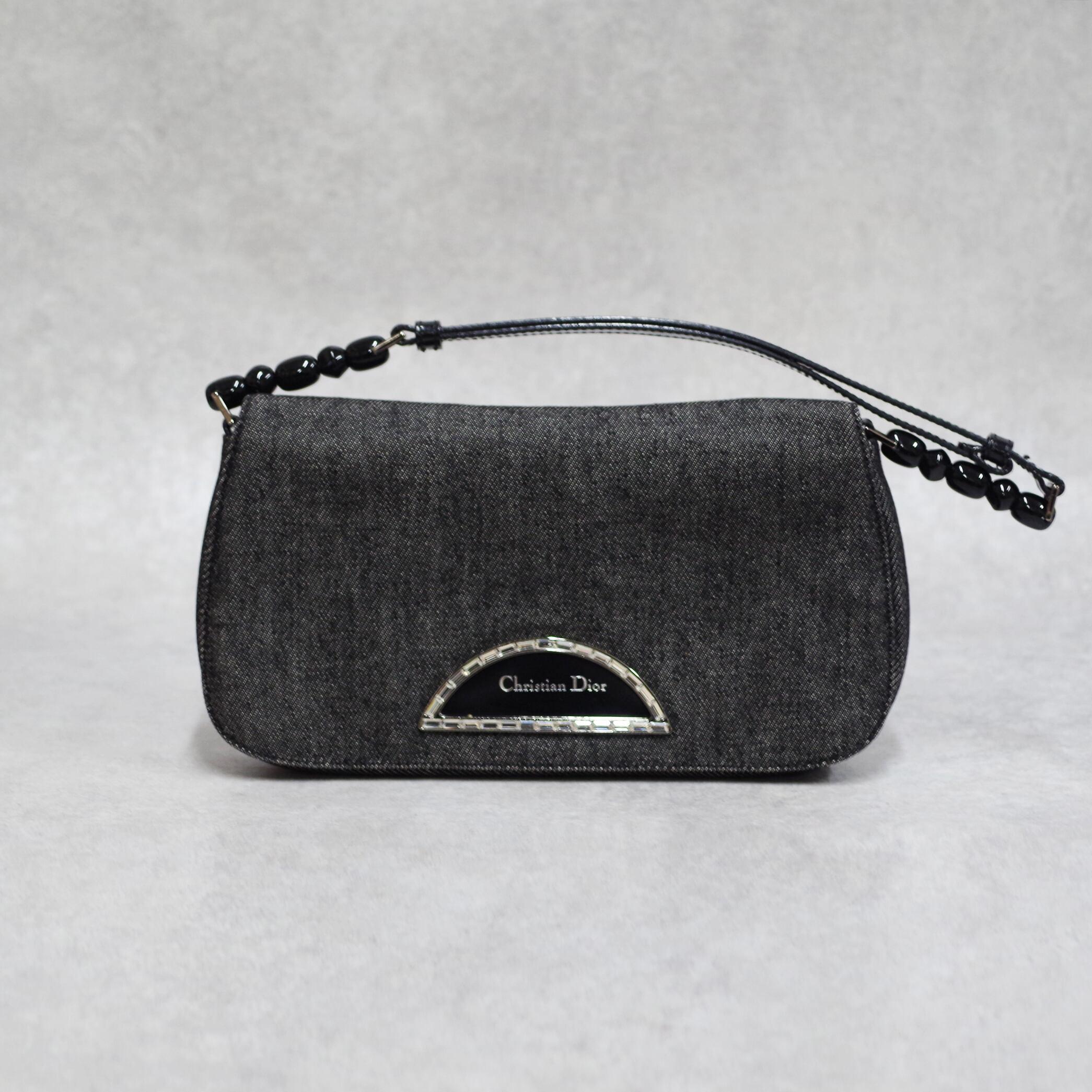 Christian Dior ディオール マリスパール ショルダーバッグ ブラック