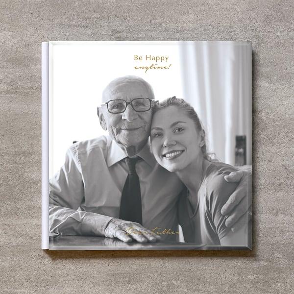 Be Happy(monochrome)-FAMILY_A4スクエア_6ページ/6カット_クラシックアルバム(アクリルカバー)