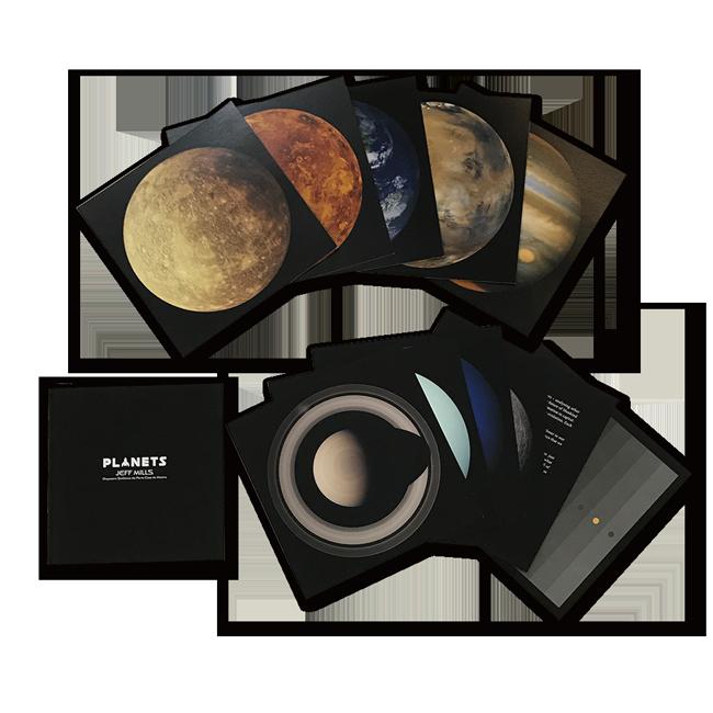 【数量限定】ジェフ・ミルズ - Planets 7インチアナログ盤×9枚組・ボックスセット - 画像4