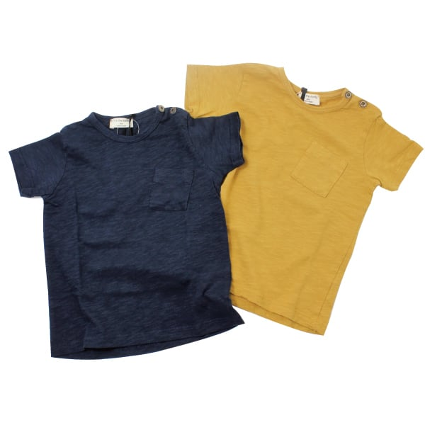 1+in the family JUDD無地ポケットt-shirt(Navy 36m)