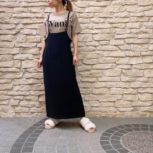 AnnaKerry(アンナケリー) ジャンパースカート 2021夏物新作[送料無料]