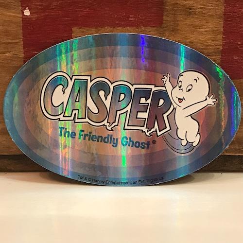 キャスパー ステッカー 楕円形タイプ