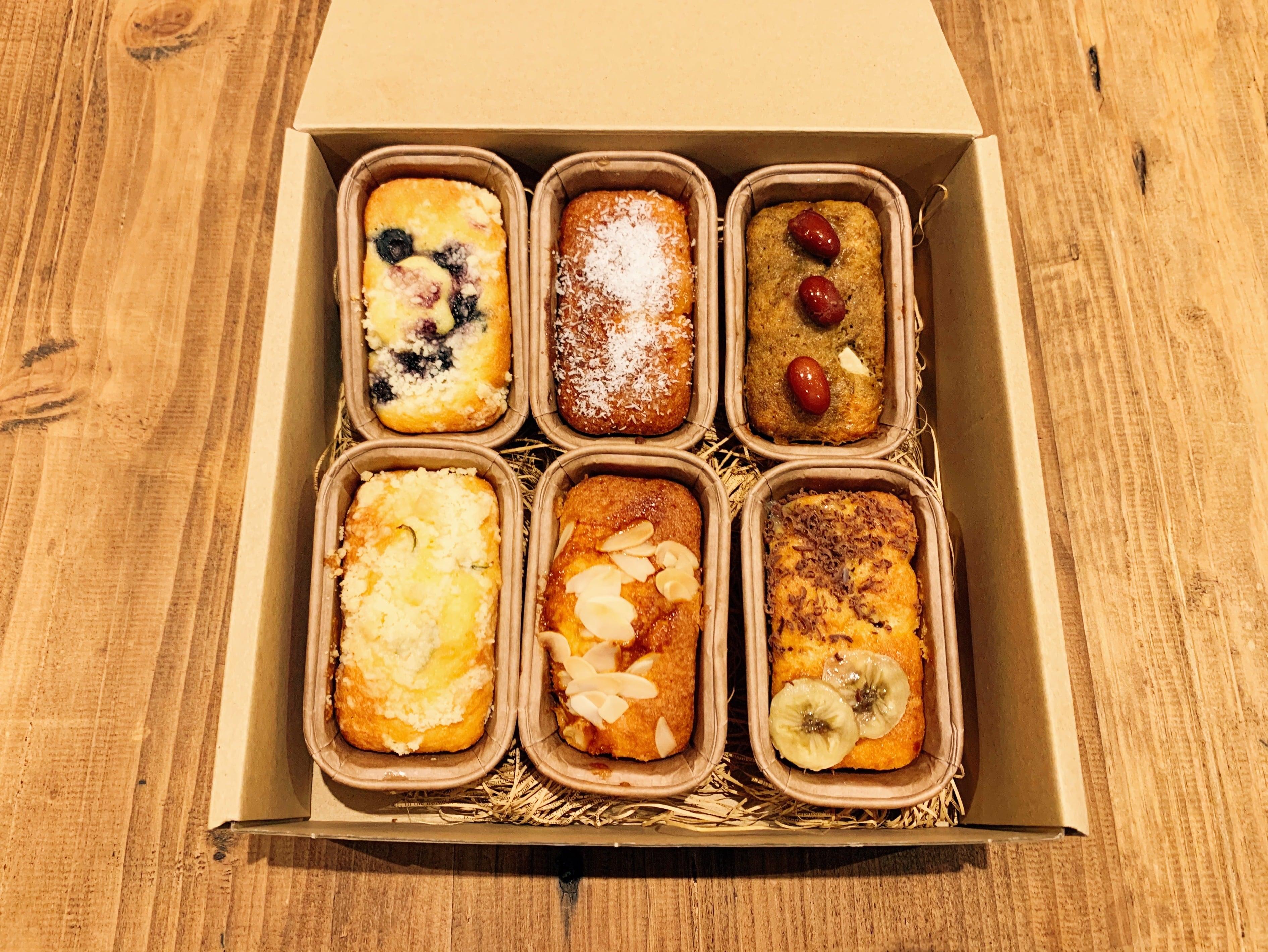 スプーンパウンドケーキ 6個入りアソート(2セット)