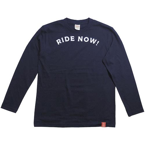 RIDE NOW!紺 (長袖)