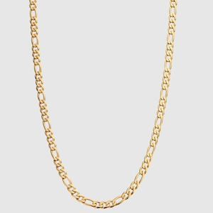 Figaro Chain Necklace【5mm/GOLD】