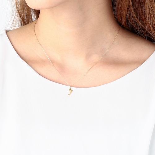 K10 Initial Necklace [WM-NK802]