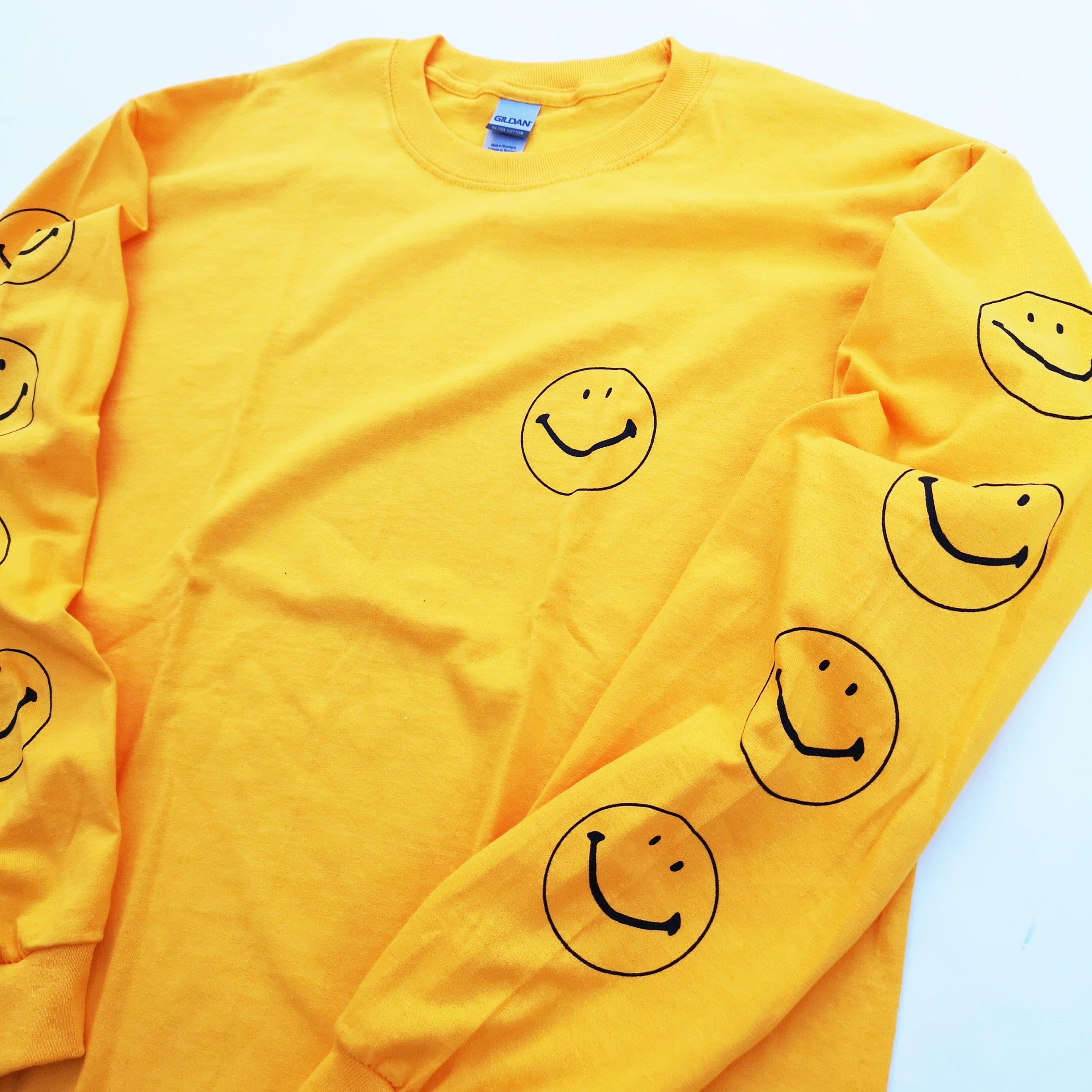 "||||| ""SMILE&VIOLENCE"" LONG TEE L"