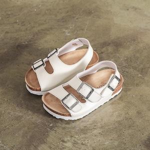 7854子供靴 キッズ ジュニア シューズ サンダル  女の子 男の子 女児 ベビー 子ども 夏シューズ 白